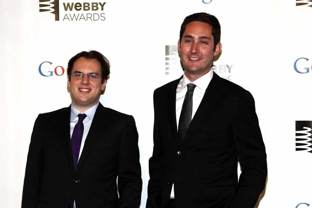 Stories of success: Instagram co-founders Mike Krieger, left, and Kevin Systrom Paul Zimmerman / Getty Images