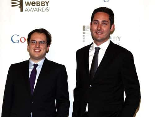 Instagram co-founders Mike Krieger, left, and Kevin Systrom Paul Zimmerman / Getty Images
